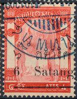 Stamp Siam ,Thailand 1909   Used Lot39 - Tailandia