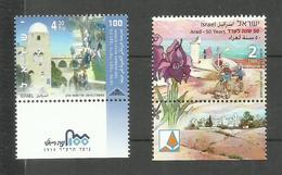 Israël N°2228, 2229 Neufs** Cote 3.70 Euros - Israel