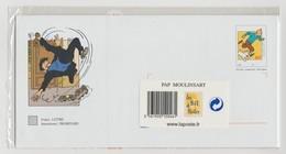 """France : PAP """"Tintin - PAP Moulinsart"""" - Carte Sous Blister Non Ouvert - - Ganzsachen"""
