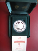 Australia 2000 Sydney Olympics $5 Dollars Silver Proof Coin - Opera House With COA Card Cased - Australia