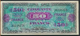 °°° FRANCE - 50 FRANCS ALLIED MILITARY CURRENCY 1944 °°° - Tesoro
