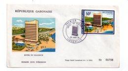 Gabon - Enveloppe Premier Jour - Hotel Du Dialogue-voir état - Gabon (1960-...)