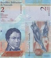 (B0094) VENEZUELA, 2012. 2 Bolivares. P-88d. UNC - Venezuela