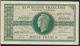 °°° FRANCE - 1000 FRANCS TRESOR MARIANNE °°° - 1943-1945 Maríanne