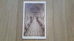 PHOTO CDV 19 EME SIECLE - FRIBOURG - SUISSE - CONSTRUIT AU CREUZOT - Photographs