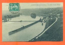 """CPA 78 Méricourt """" La Seine , Vue De L'écluse """" - Otros Municipios"""