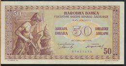 °°° JUGOSLAVIA - 50 DINARA 1946 °°° - Jugoslavia