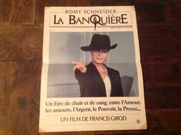 Affiche De Film La Banquières Romy Schneider 38,5 X 29 Cm Gaumont - Afiches