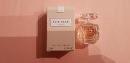 MINIATURE PARFUM   ELIE SAAB  LE PARFUM  EDP 7,5ml  NEUF - Miniatures Womens' Fragrances (in Box)