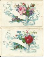 Calendrier 1890 Chocolat GIRY, Nougats Et Racahout, MARSEILLE, Plié En Deux, Recto Verso, 100 X 130 Mm Déplié. Très Beau - Sin Clasificación