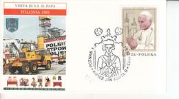 Polonia (1983) - Viaggio Di Papa Giovanni Paolo II - 1944-.... Repubblica