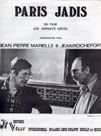 PARTITION J.P MARIELLE - JEAN ROCHEFORT-PARIS JADIS (SARDE/CAUSSIMON DU FILM ENFANTS GATES)-1977-EXC ETAT COMME NEUF - Musique & Instruments