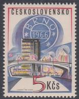 Czechoslovakia Scott 1421 1966 Brno Philatelic Exhibition, Mint Never Hinged - Czechoslovakia