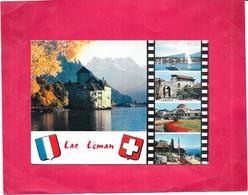 Souvenir Du LAC LEMAN - MULTI-VUES  - 5 Vues - DELC8 - - GE Ginevra