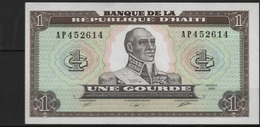 B 48 - HAÏTI Billet De 1 Gourde état Neuf - Haïti