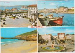 El Ferrol - Cpm / Vues. - La Coruña