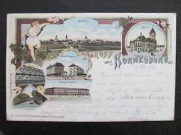 AK KORNEUBURG Litho  1898 Milit. Post Maglaj !  ///  D*36491 - Korneuburg