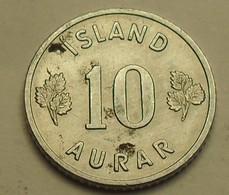 1971 - Islande - Iceland - 10 AURAR - KM 10a - Islandia