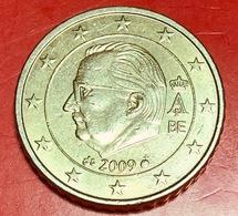 BELGIO - 2009 - Moneta - Effige Di  Re Alberto II - Euro - 0.50 - Belgio