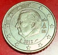 BELGIO - 2012 - Moneta - Effige Di  Re Alberto II - Euro - 0.50 - Belgio