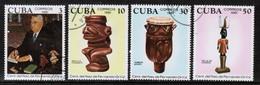 CUBA  Scott # 2463-6 VF USED (Stamp Scan # 450) - Cuba