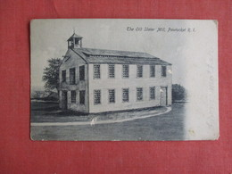 - Rhode Island > Pawtucket Old Slater Mill     Ref 3149 - Pawtucket