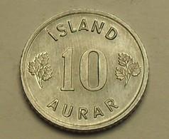 1974 - Islande - Iceland - 10 AURAR - KM 10a - Islande