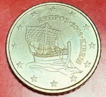 CIPRO - 2008 - Moneta - Nave Di Kyrenia - Euro - 0.50 - Cipro