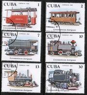 CUBA  Scott # 2357-62 VF USED (Stamp Scan # 450) - Cuba