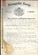 Suéde, Café,Chocolat, Gastronomie, Brevet Déposé Le 27 Juin 1916 Pour La Production D'extrait De Café - Historical Documents