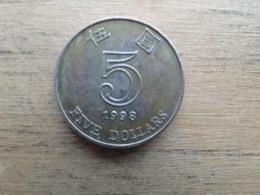 Hong Kong  5  Dollars 1998  Km 65 - Hong Kong