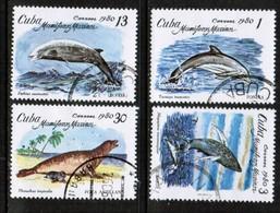 CUBA  Scott # 2334-7 VF USED (Stamp Scan # 450) - Cuba