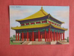 Lama Temple  1933 Chicago Exposition  Ref 3149 - Exhibitions