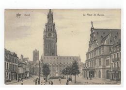 Gand - La Place St.Bavon STAR 44-Héliotypie De Graeve,Gand - Gent
