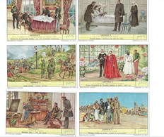 Belgique Léopold II Belgium (496) X 6 Série Complète Didactique Pub:Liebig 110 X 70 Mm 2 Scans TB - Liebig