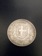 5 Lire Argento Vittorio Emanuele Secondo 1874 - 1861-1946 : Reino