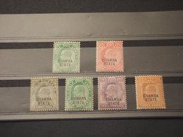 CHAMBA - 1903/5-1907 RE 6 VALORI - NUOVI(+) - Chamba