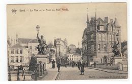 Gand - La Rue Et Le Pont Du Pain Perdu STAR 86-70- Héliotypie De Graeve,Gand - Gent