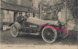 CPA 37 SPORT AUTOMOBILE Barré Ile Bouchard-envoyé De Mayet En 1923 à M. Et Mme Bardot; Roman à Lire Au Dos!!! Bel état - Ohne Zuordnung