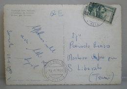 1959 Storia Postale Italia Annullo Motonave Post. Italiana Meta Cartolina - 6. 1946-.. Repubblica