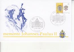Vaticano - Busta Ricordo Del  Papa Giovanni Paolo II - Vaticano (Ciudad Del)