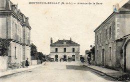 MONTREUIL BELLAY - Avenue De La Gare - Montreuil Bellay