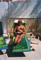 Original Photo Holiday Beach - Pin-up