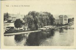 Visé -- La Meuse Et L' Ile Robinson.     (2 Scans) - Wezet