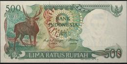 B 52 - INDONESIE Billet De 500 Rupiah 1988 état Neuf - Indonésie