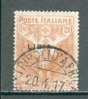 LIBYE ; Colonie Italienne  ;1915-1916 ; Y&T N° 16 ; Oblitéré - Libye