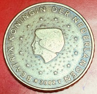 Paesi Bassi - 2002 - Moneta - Regina Beatrice - Euro - 0.50 - Paesi Bassi