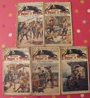 5 Fascicules Sous Le Pavillon Noir. Aventures De Morgan Le Pirate. Eichler Vers 1906 - Livres, BD, Revues