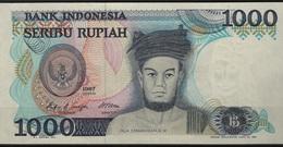 B 53 - INDONESIE Billet De 1000 Rupiah 1987 état Neuf - Indonésie