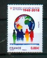 France 2018 - Déclaration Universelle Des Droits De L'Homme / Universal Declaration For Human Rights - MNH - ONU